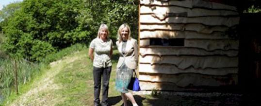 Elizabeth Truss MP visits Alderwood Lodges