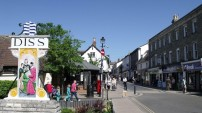 Market town of Diss